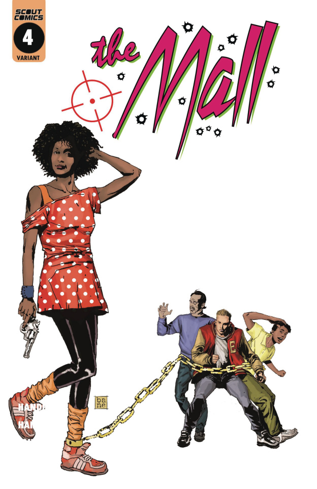 The Mall #4 (10 Copy Cover)