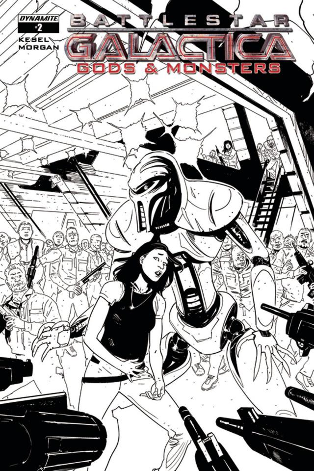 Battlestar Galactica: Gods & Monsters #2 (10 Copy Cover)