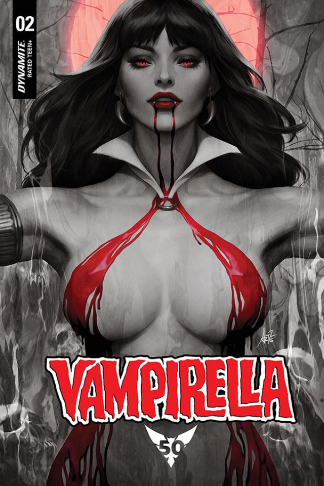 Vampirella #2 (Lau Rare Blood Moon Cover)