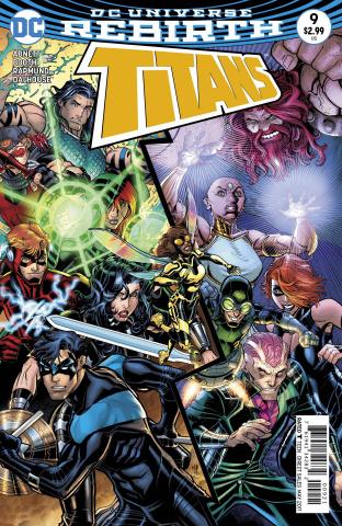 Titans #9 (Variant Cover)