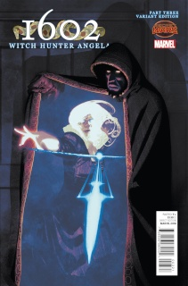 1602: Witch Hunter Angela #3 (Irving Cover)