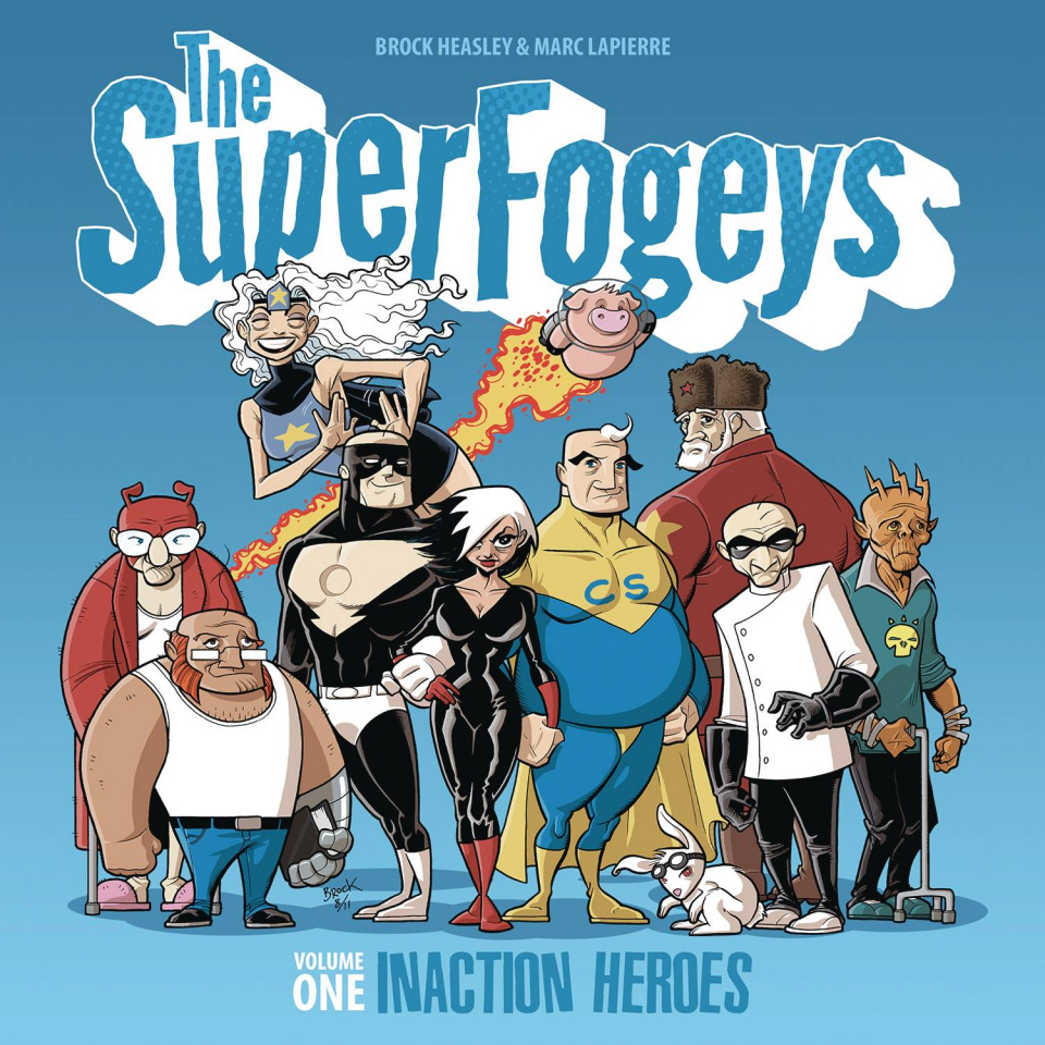 The Superfogeys Vol. 1: Inaction Heroes