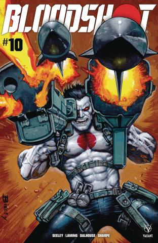 Bloodshot #10 (Bisley Cover)