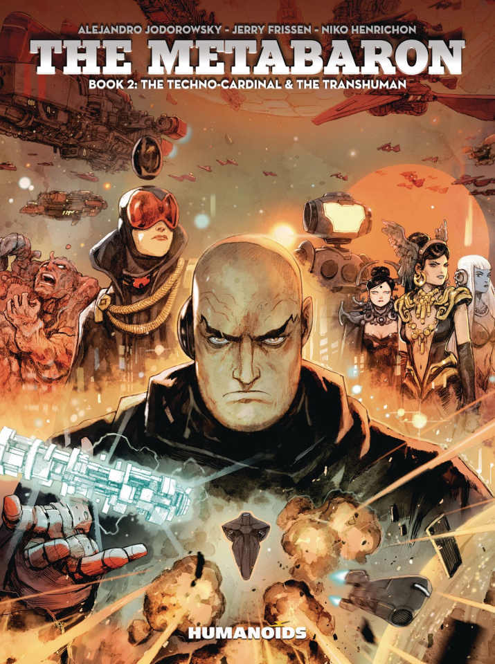 The Metabaron Vol. 2: The Techno-Cardinal & The Transhuman