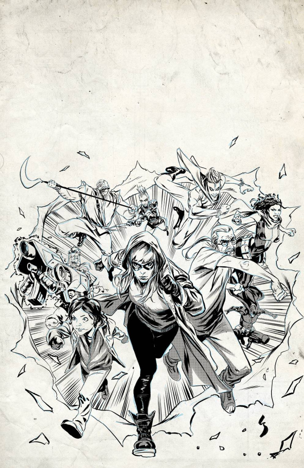 Crossover #4 (25 Copy Shaw Raw Cover)