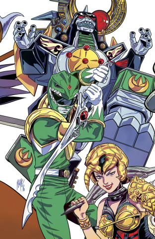 Mighty Morphin' Power Rangers #1 (ECCC Cover)
