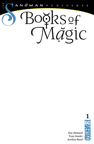 Books of Magic #1 (Blank Cover)