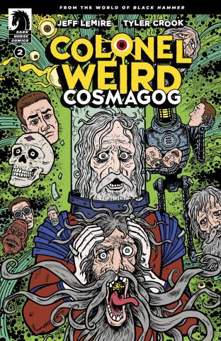 Colonel Weird: Cosmagog #2 (Lemire & Stewart Cover)