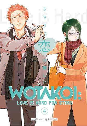 Wotakoi: Love Is Hard for an Otaku Vol. 4