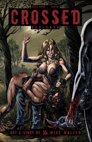 Crossed: Badlands #82 (Torture Cover)