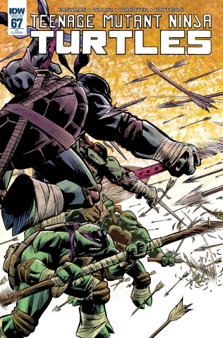 Teenage Mutant Ninja Turtles #67 (10 Copy Cover)