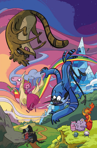 Adventure Time: Regular Show #3 (10 Copy Epstein Cover)