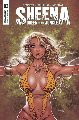 Sheena #3 (Buchemi Cover)