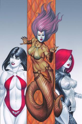 Dawn / Vampirella #2 (Rare Linsner Virgin Cover)
