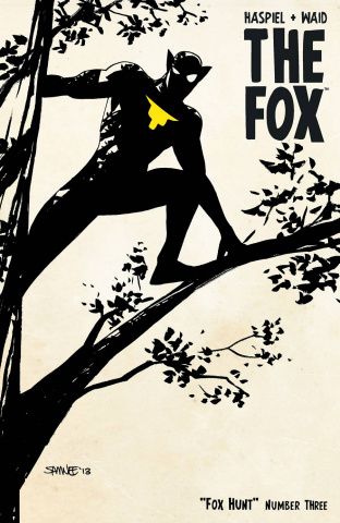 The Fox #3 (Chris Samnee Prowling Cover)