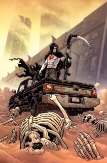 Bloodshot: Reborn #11 (20 Copy Level Cover)