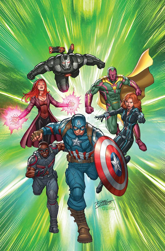 Captain America: The Road to War #1