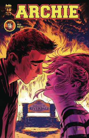 Archie #10 (Veronica Fish Cover)