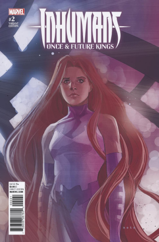 Inhumans: Once & Future Kings #2 (Character Cover)