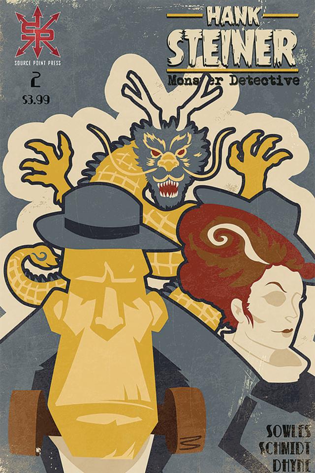 Hank Steiner: Monster Detective #2