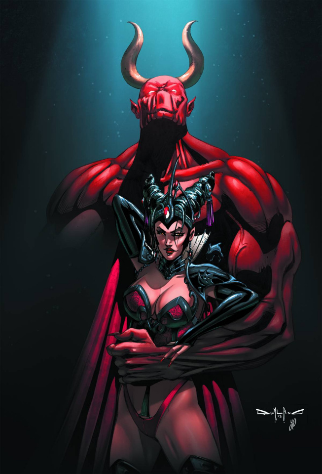 Grimm Fairy Tales: Dark Queen (Qualano Cover)