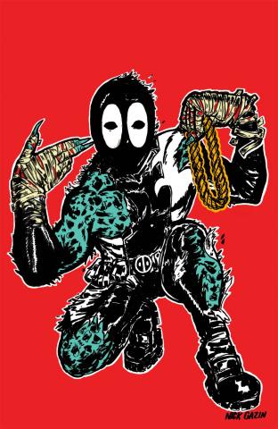 Deadpool's Secret Secret Wars #1 (Gazin Cover)