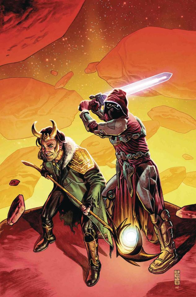 Infinity Wars #3 (Jones Promo Cover)