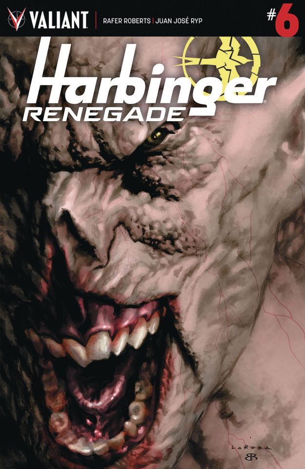 Harbinger: Renegade #6 (Larosa Cover)