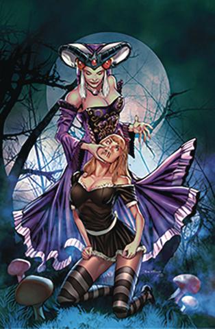 Revenge of Wonderland #4 (Vitorino Cover)
