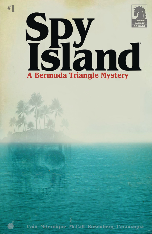 Spy Island #1 (Miternique Cover)