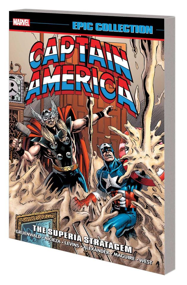Captain America: Superia Stratagem (Epic Collection)