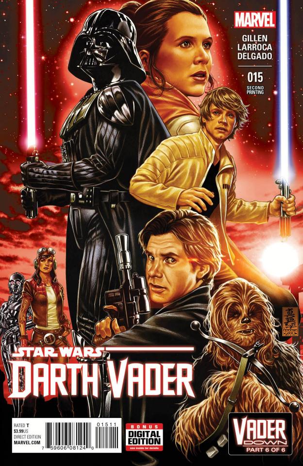 Darth Vader #15 (Brooks 2nd Printing)