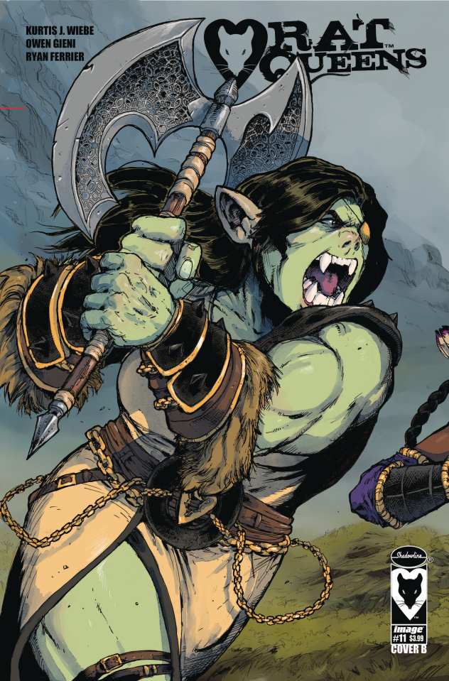 Rat Queens #11 (Gieni Cover)