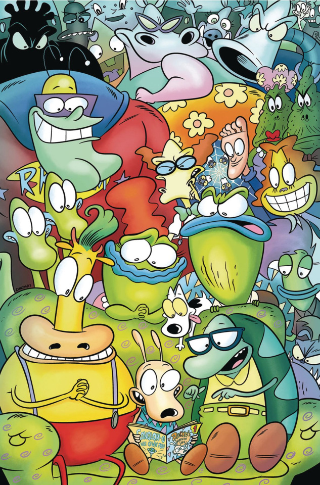 Rocko's Modern Life #5 (Subscriptions Cover)