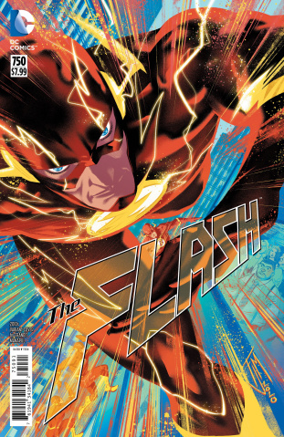 The Flash #750 (2010s Francis Manapul Cover)