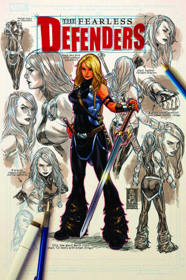 The Fearless Defenders #8