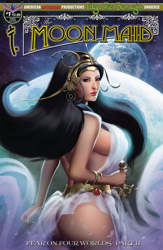 Moon Maid #1 (Wolfer Cover)