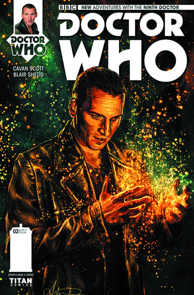 Doctor Who: New Adventures with the Ninth Doctor #2 (Zhang Cover)