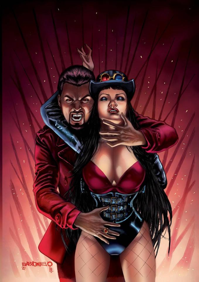 Van Helsing #50 (Barrionuevo Cover)