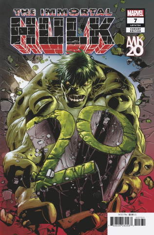 The Immortal Hulk #7 (Deodato Cover)