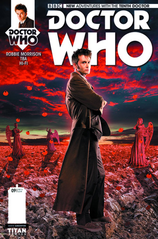 Doctor Who: New Adventures with the Tenth Doctor #9 (Subscription Photo Cover)