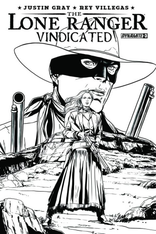 The Lone Ranger: Vindicated #3 (10 Copy Laming Cover)