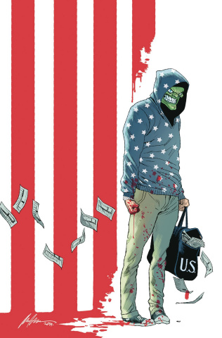 The Mask: I Pledge Allegiance to the Mask #1 (Albuquerque Cover)