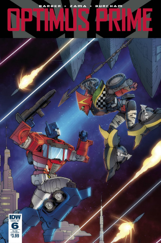Optimus Prime #6 (Subscription Cover)