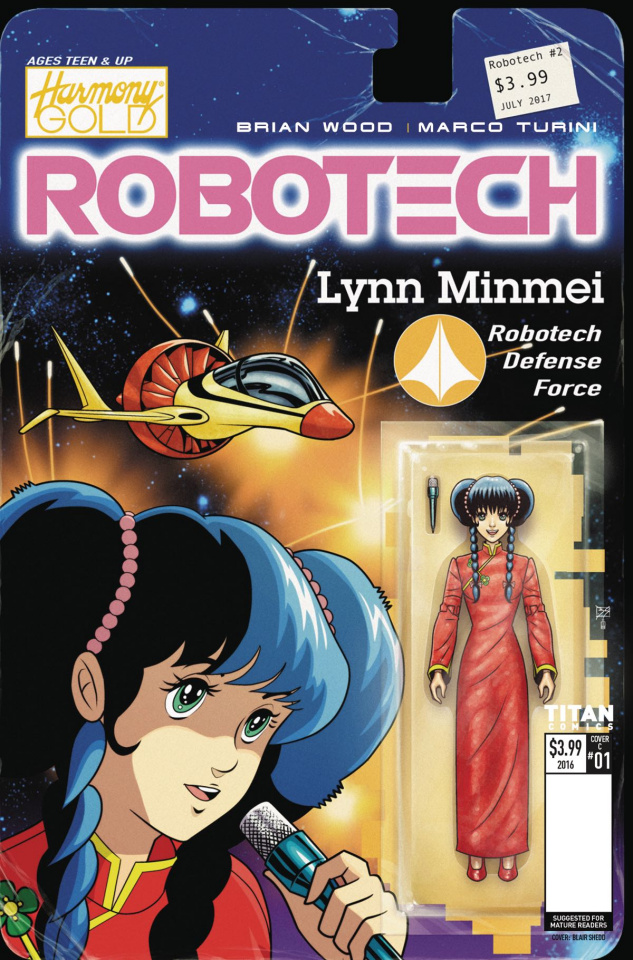 Robotech #2 (Action Figure Var Cover)