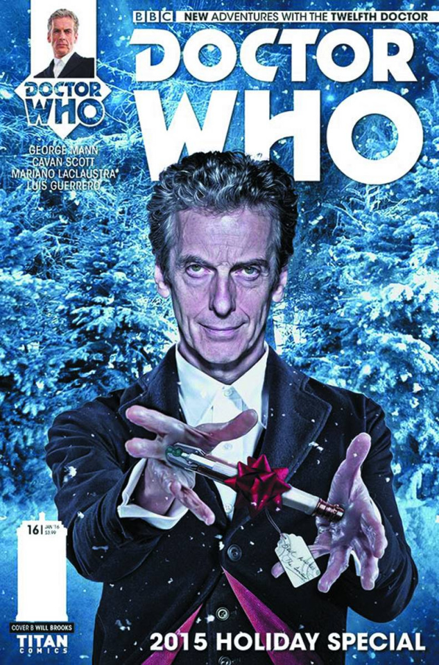 Doctor Who: New Adventures with the Twelfth Doctor #16 (Brooks Subscription Photo Cover)