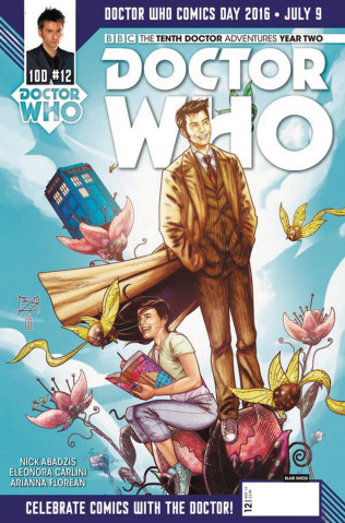 Doctor Who: New Adventures with the Tenth Doctor, Year Two #12 (Doctor Who Day Cover)