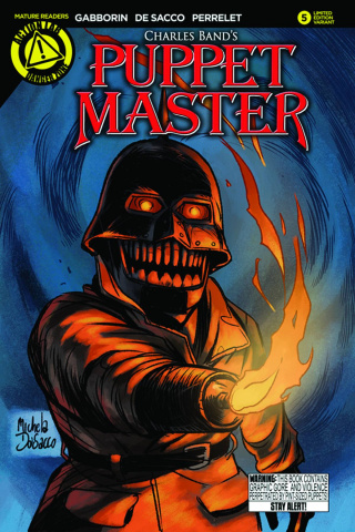 Puppet Master #5 (Torch Cover)