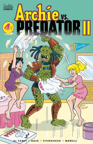 Archie vs. Predator II #4 (Golliher Cover)