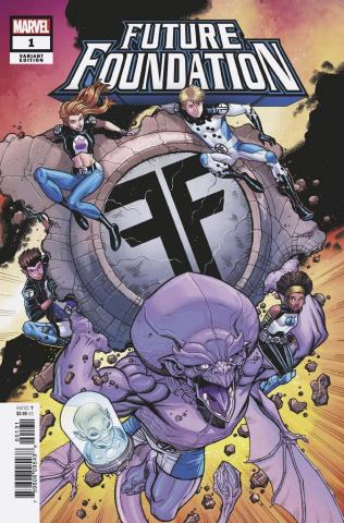 Future Foundation #1 (Bradshaw Cover)